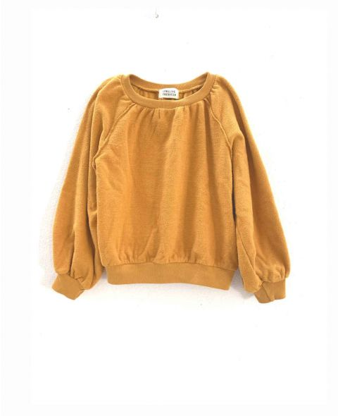 12916 terry sweater
