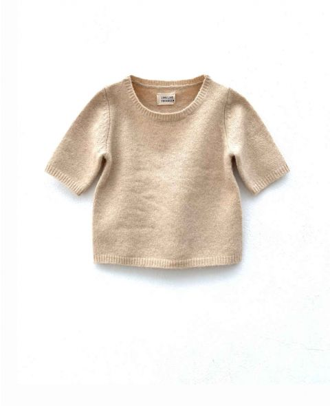 12918 short sleeve sweater